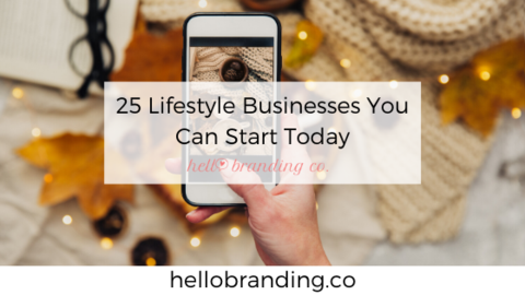 lifestyle businesses to start today